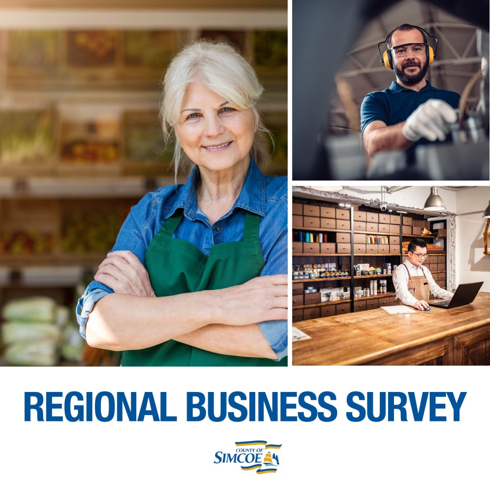 Image on Simcoe Business Survey re: COVID
