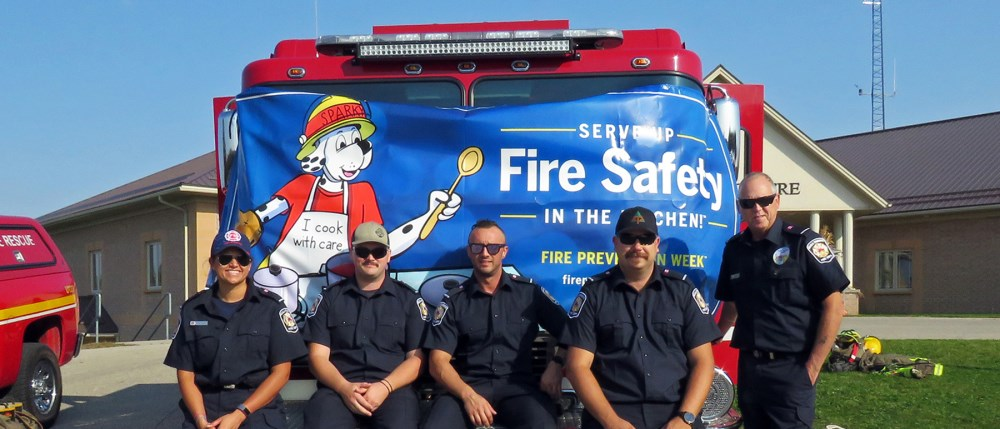 Image of Firefighters for Fire Prevention Week