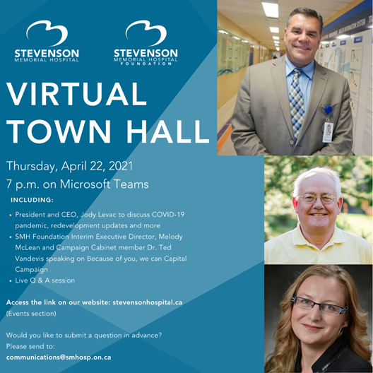 SMH Virtual Hall Meeting